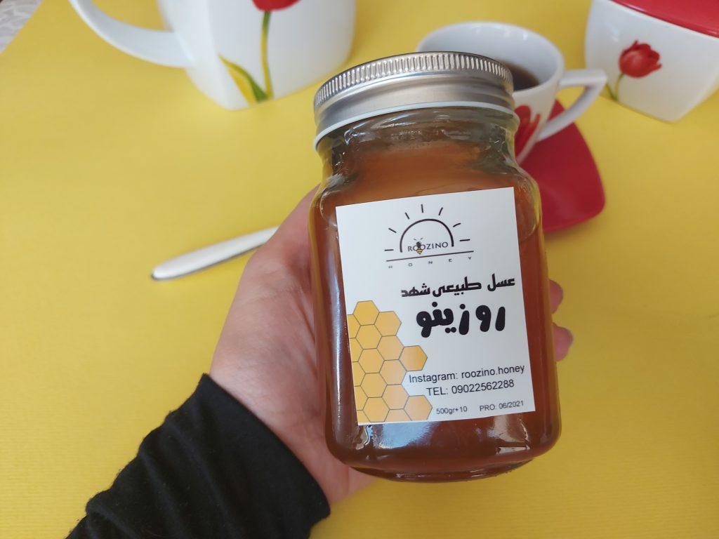 """عسل طبیعی """"روزینو"""""""